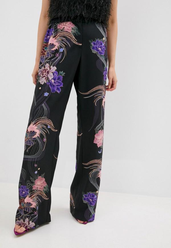 женские повседневные брюки alberta ferretti, черные
