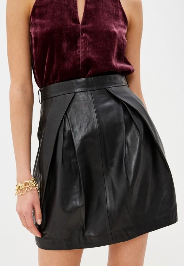 женская прямые юбка alberta ferretti, черная