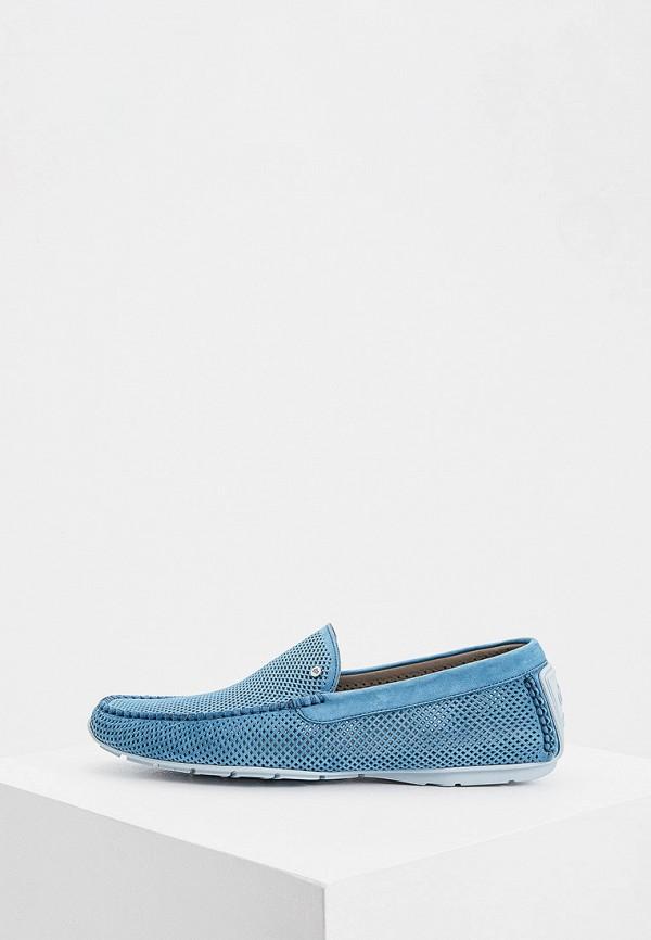 мужские мокасины aldo brue, голубые