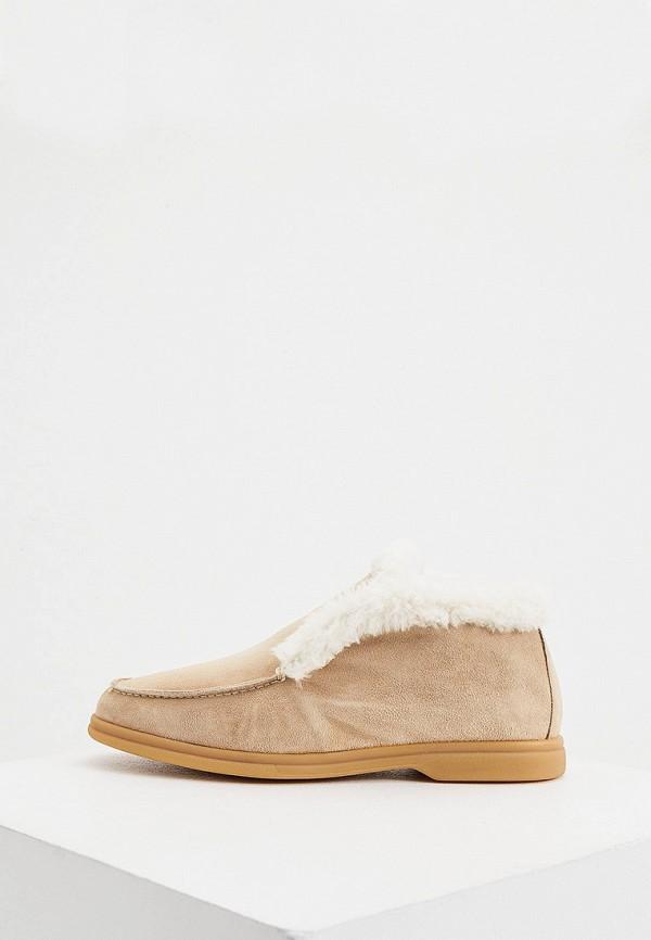 женские ботинки aldo brue, бежевые