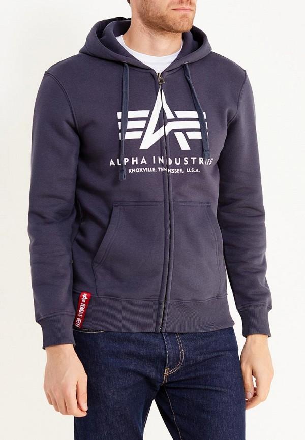 Толстовка Alpha Industries Alpha Industries AL507EMUHN40 alpha industries men s ma 1 bomber flight jacket