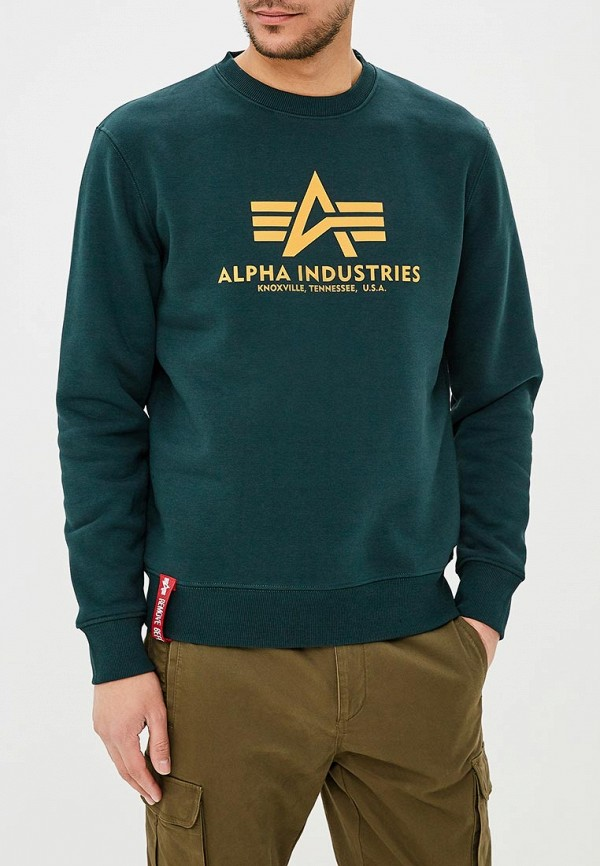 Свитшот Alpha Industries Alpha Industries AL507EMZZR42 arab media industries