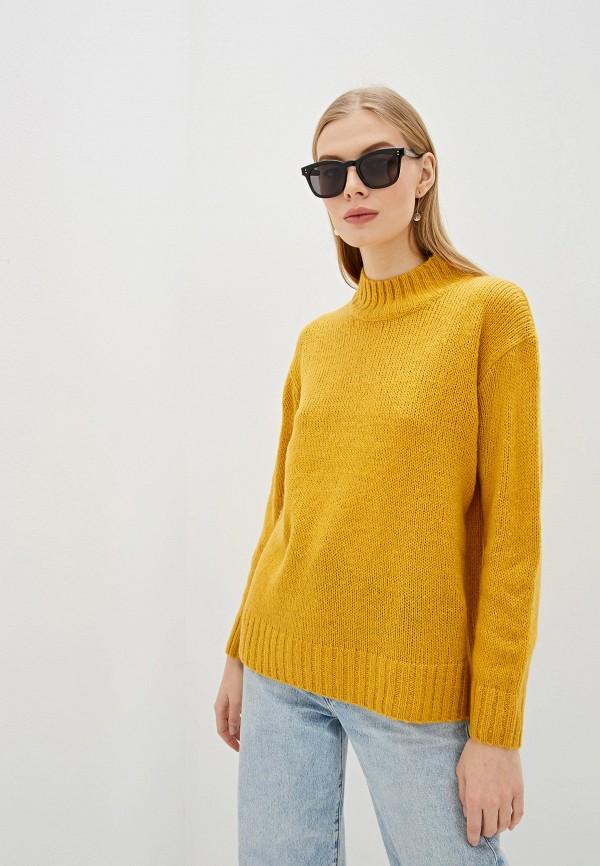 женский свитер amara reya, желтый