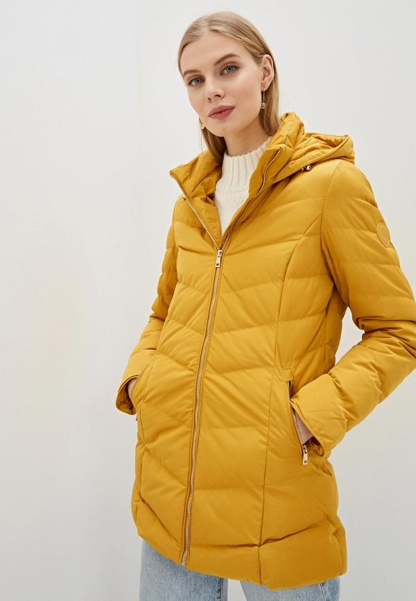 женская куртка amara reya, желтая