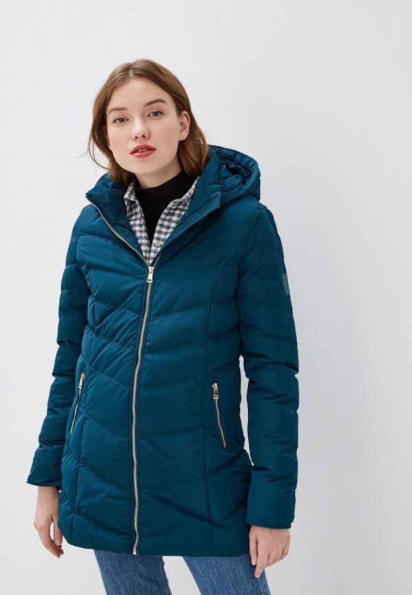 женская куртка amara reya, бирюзовая