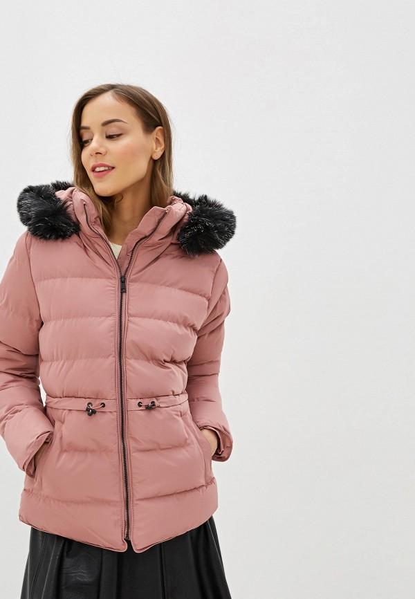 женская куртка amara reya, розовая