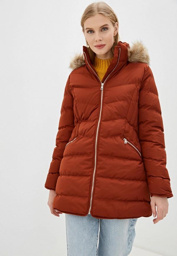 женская куртка amara reya, коричневая