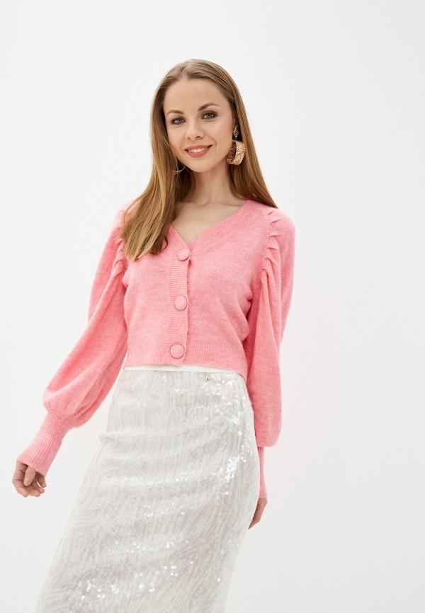 женский кардиган amara reya, розовый