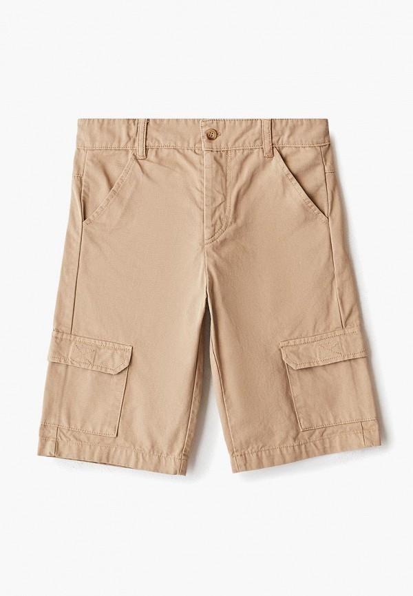 шорты amore di mamma для мальчика, бежевые
