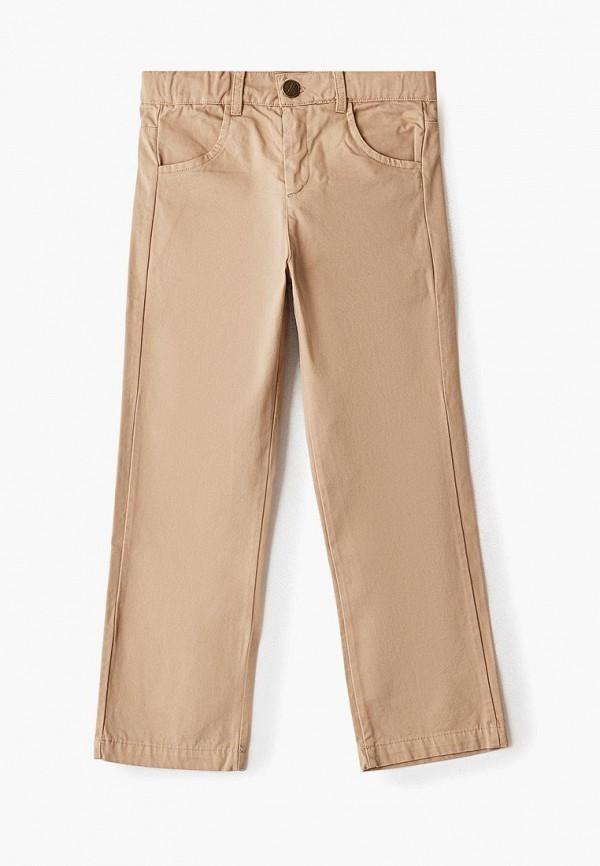 брюки amore di mamma для мальчика, бежевые