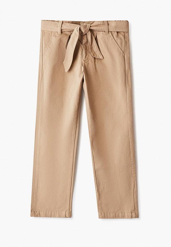 брюки amore di mamma для девочки, бежевые