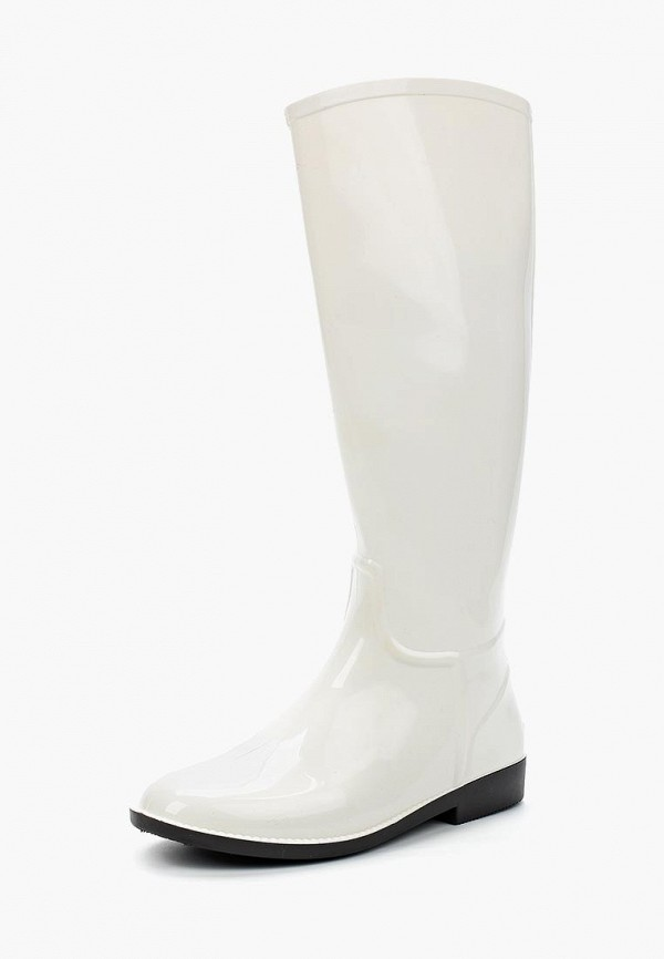 женские резиновые сапоги sandra, белые