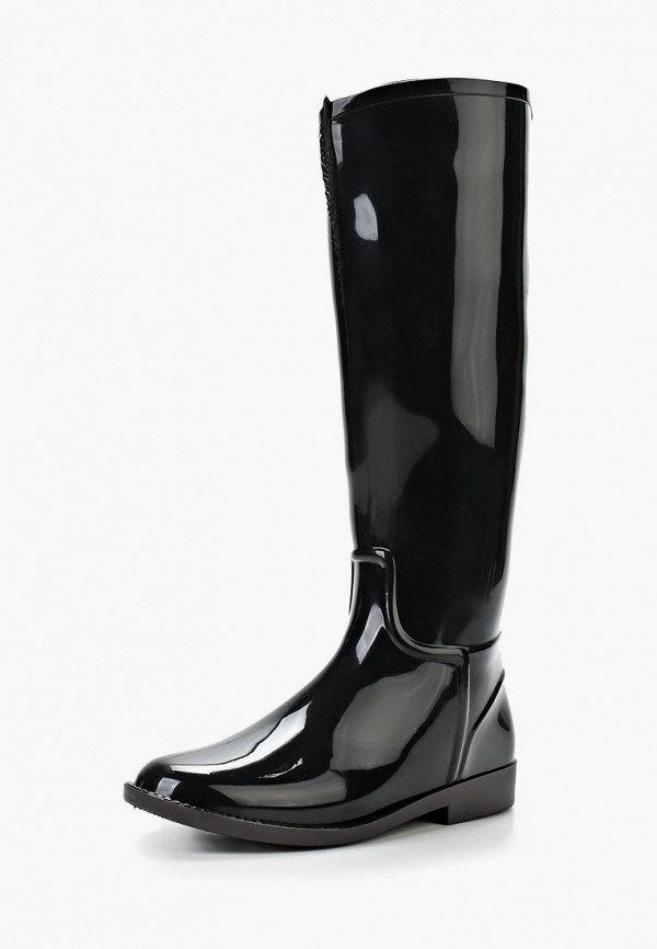женские резиновые сапоги anra, черные