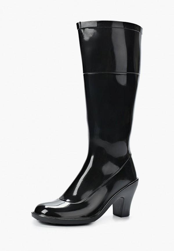 женские резиновые сапоги sandra, черные