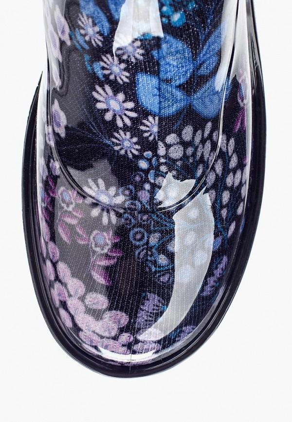 Фото 4 - Резиновые сапоги Anra синего цвета