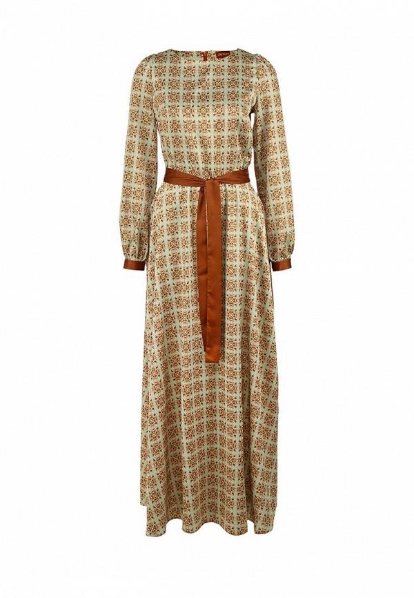 женское вечерние платье анна чапман, разноцветное