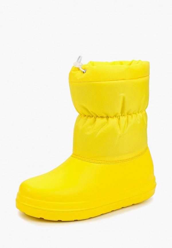 Фото 2 - Дутики Anra желтого цвета