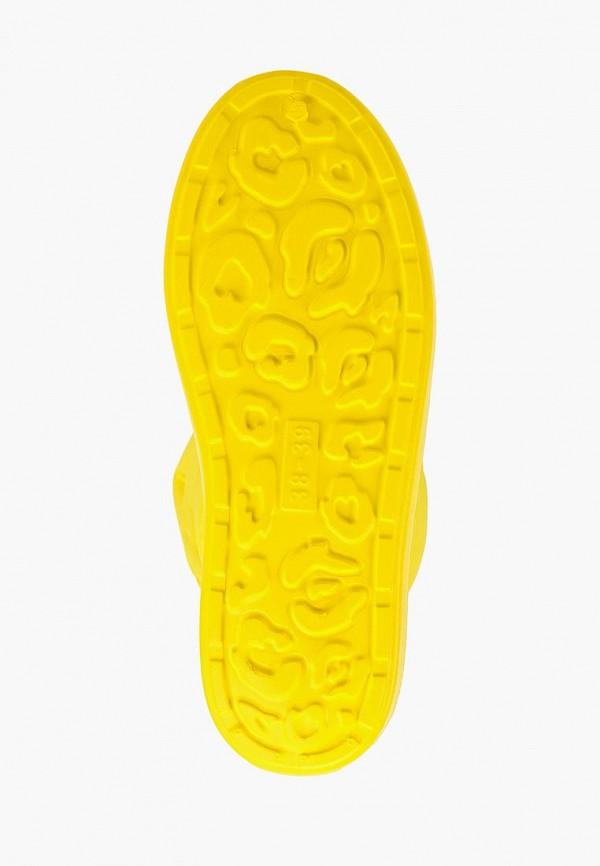Фото 5 - Дутики Anra желтого цвета