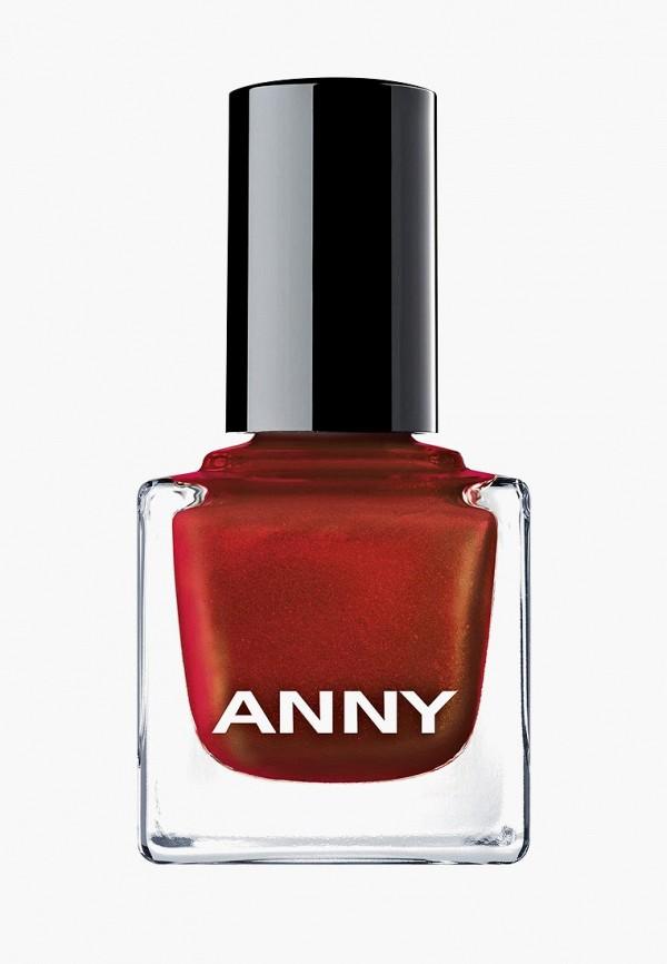 лак для ногтей anny, красный