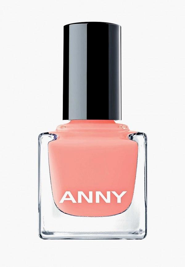 лак для ногтей anny, розовый
