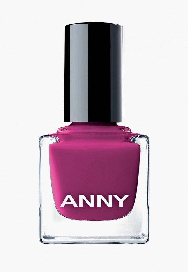 лак для ногтей anny, фиолетовый