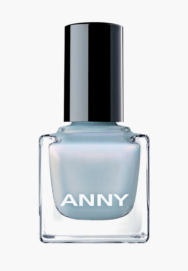 лак для ногтей anny, голубой