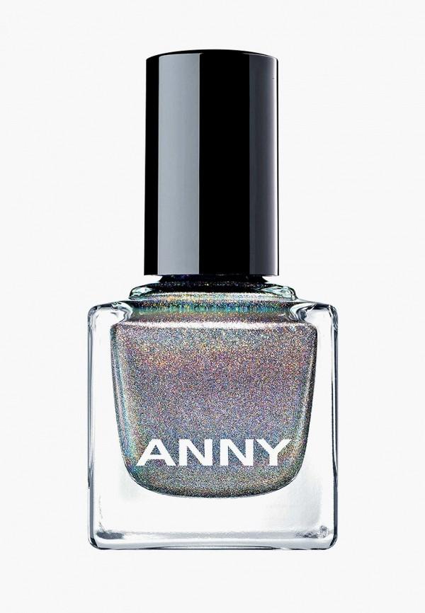лак для ногтей anny, серебряный