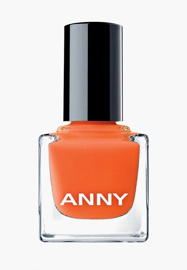 лак для ногтей anny, оранжевый