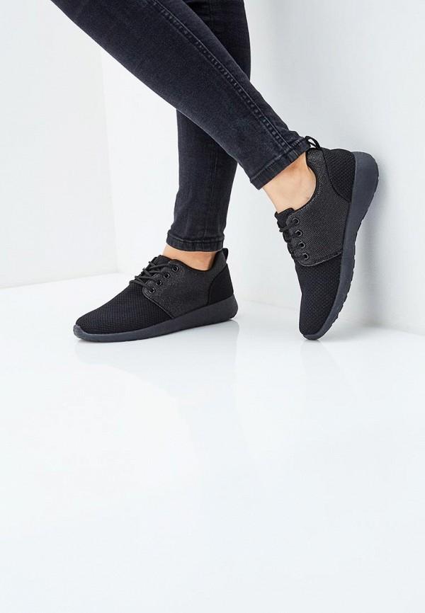 Фото 5 - женские кроссовки Anesia черного цвета