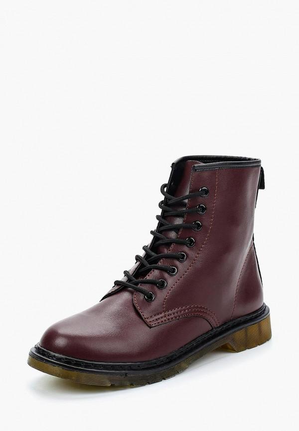 Купить Ботинки Angelo Milano, Angelo Milano AN053AWXYW53, бордовый, Осень-зима 2018/2019