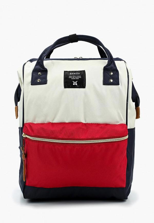 женский рюкзак anello, разноцветный