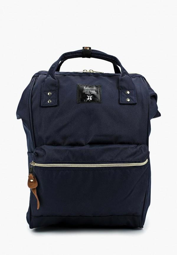 женский рюкзак anello, синий