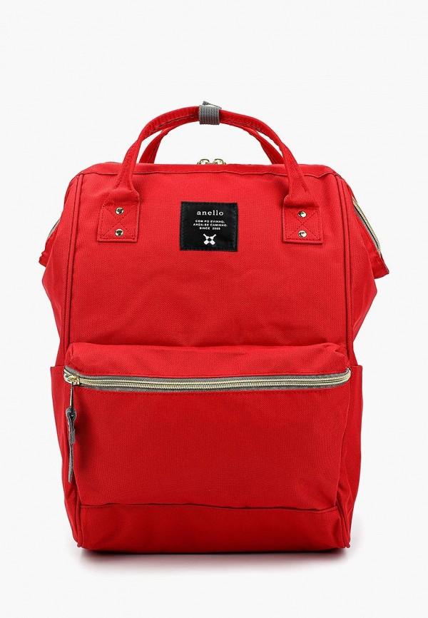 женский рюкзак anello, красный