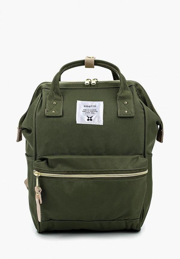женский рюкзак anello, хаки