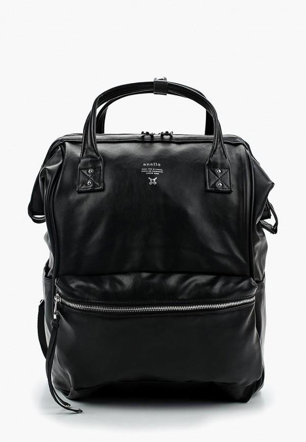 женский рюкзак anello, черный