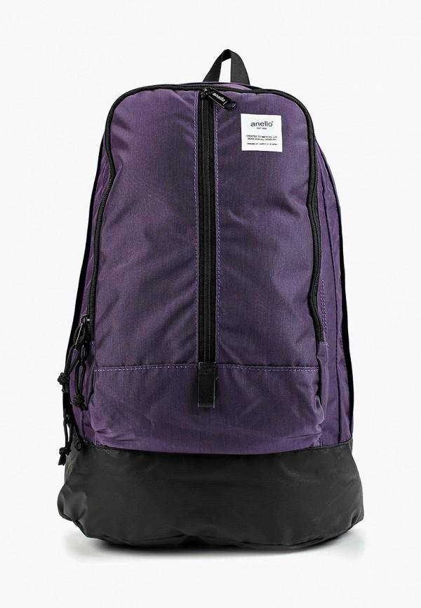 женский рюкзак anello, фиолетовый