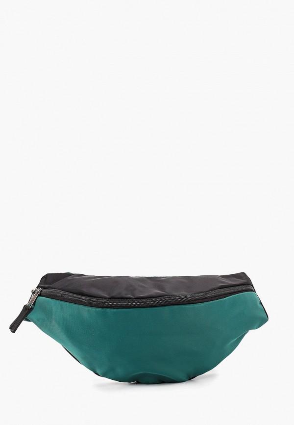 женская сумка anello, зеленая
