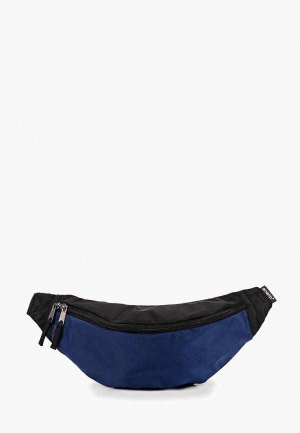 женская сумка anello, синяя