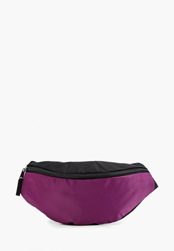 женская сумка anello, фиолетовая