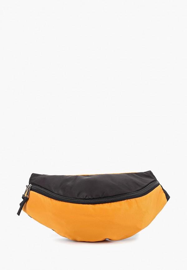 женская сумка anello, оранжевая