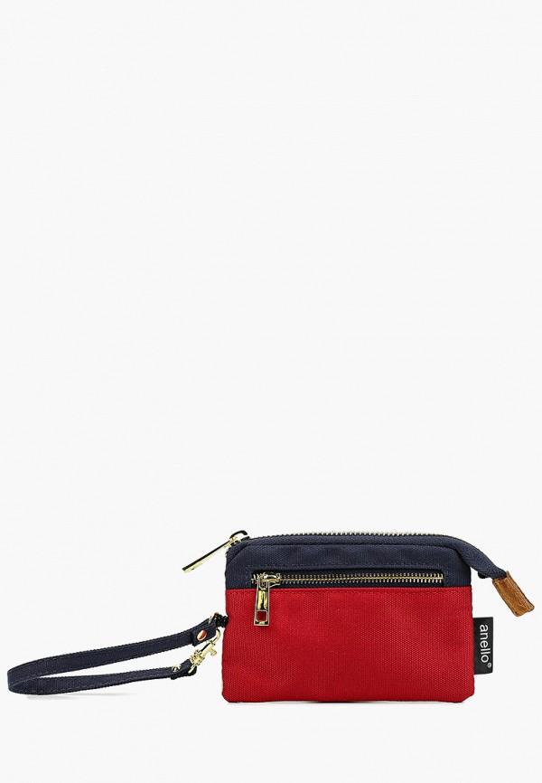 женский кошелёк anello, разноцветный