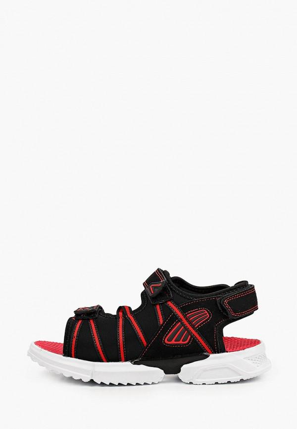 сандалии antilopa для мальчика, черные