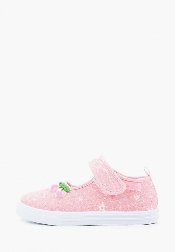туфли antilopa для девочки, розовые