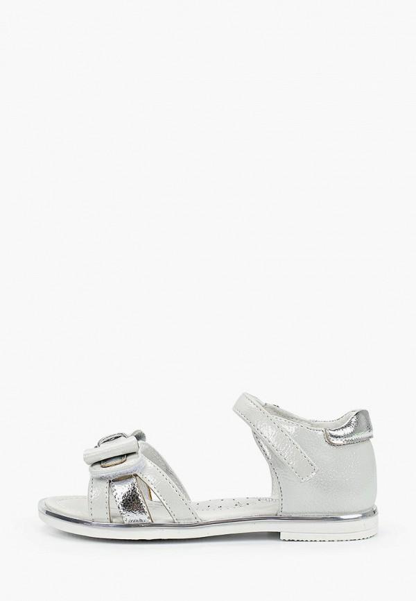 сандалии antilopa для девочки, серебряные
