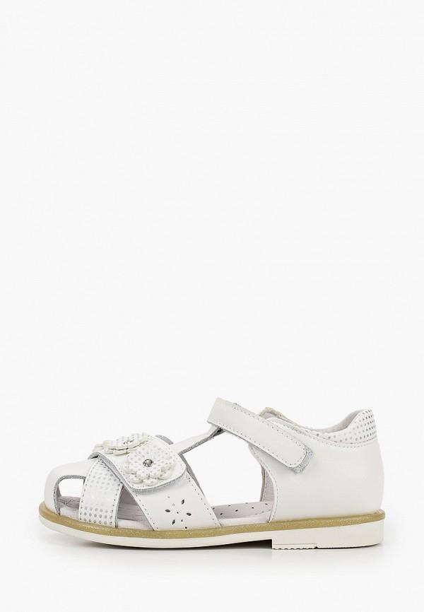 сандалии antilopa для девочки, белые