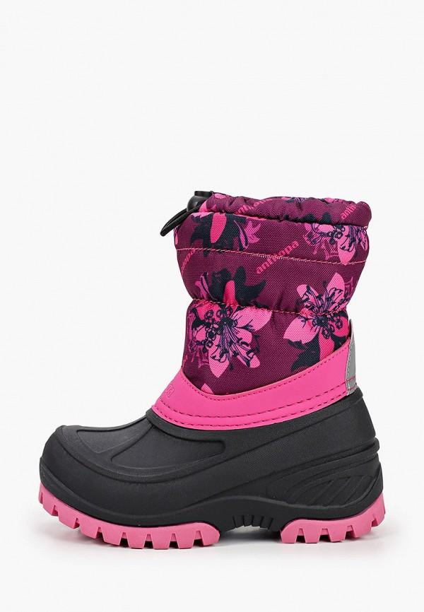 дутики antilopa для девочки, розовые