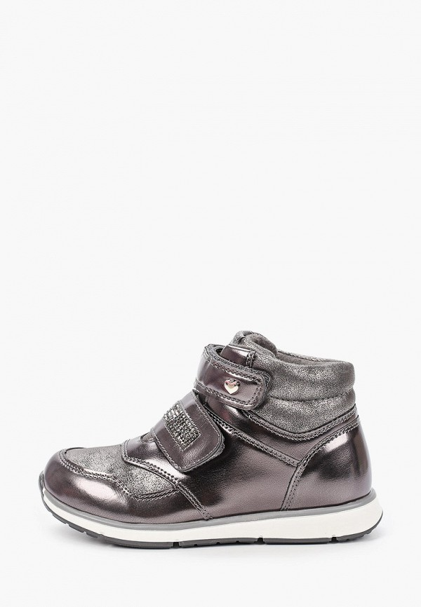 ботинки antilopa для девочки, серые