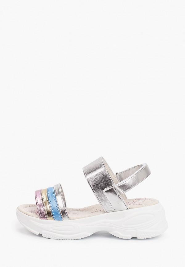 сандалии antilopa для девочки, разноцветные