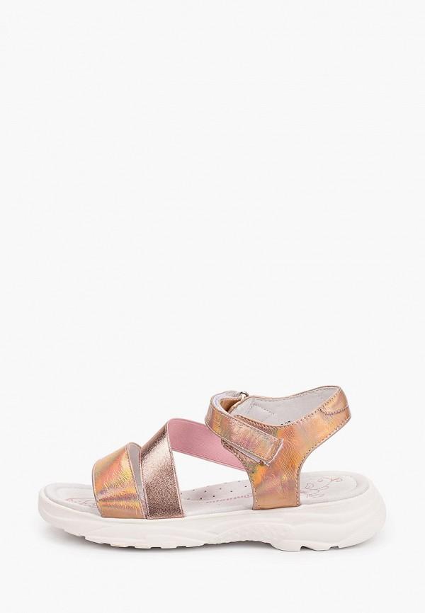 сандалии antilopa для девочки, розовые