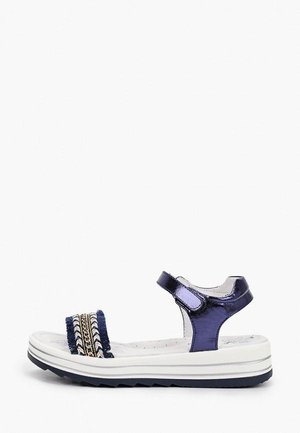 сандалии antilopa для девочки, синие